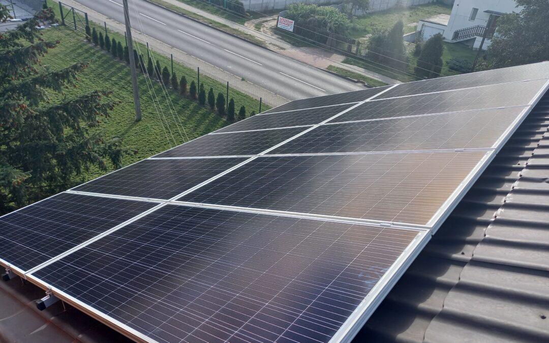 Wielkopolska, instalacja fotowoltaiczna 9,12 kWp