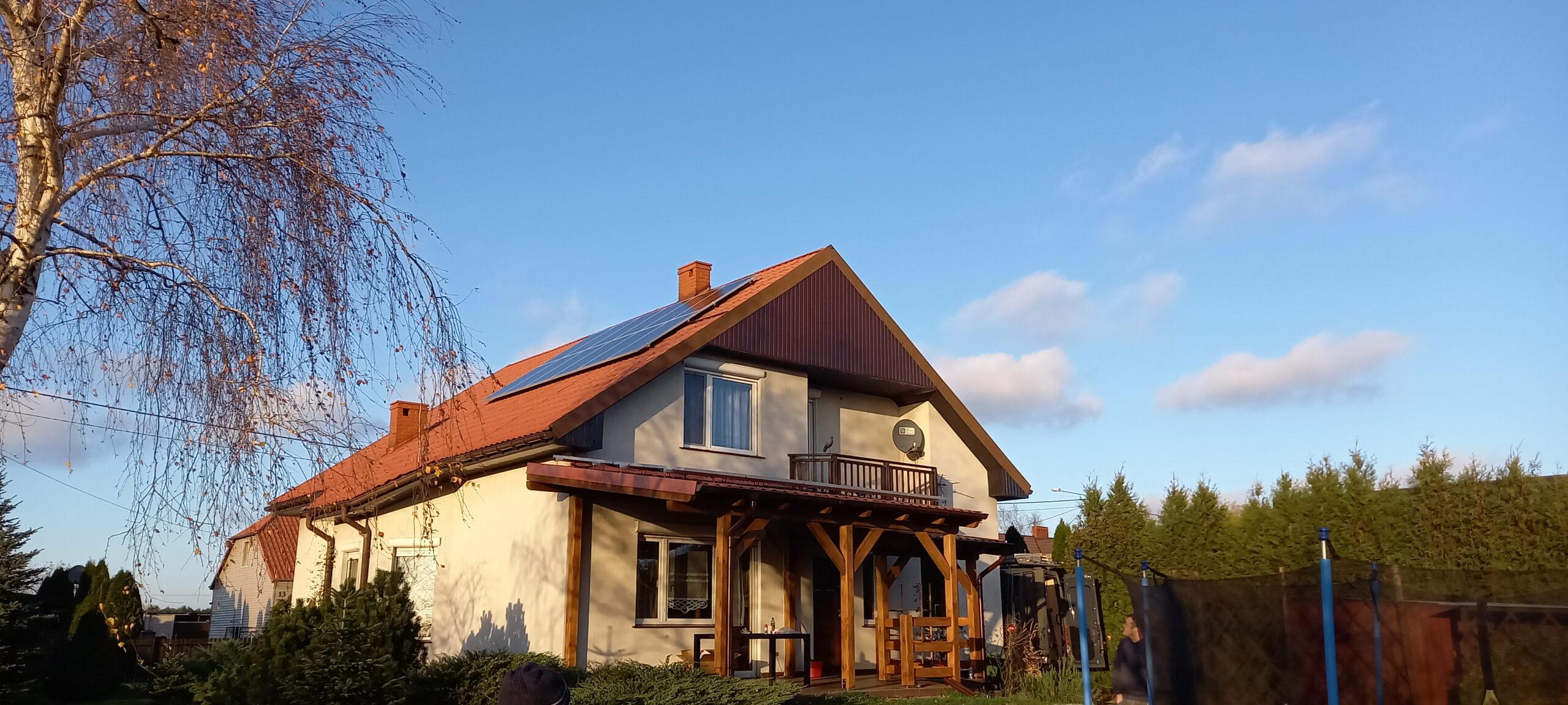 Wielkopolska, instalacja fotowoltaiczna 7,15 kWp