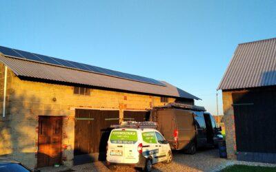 Wielkopolska, instalacja fotowoltaiczna 4,29 kWp